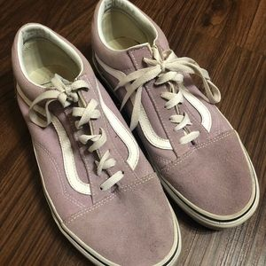 Dusty Rose Vans